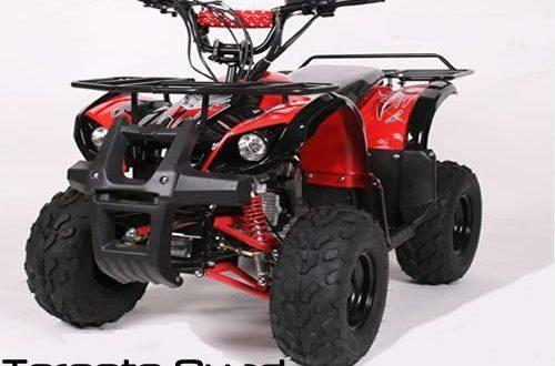 """Toronto 125cc RG 7 Automatik RG MIDI QUAD 500x330 - Toronto 125cc RG 7"""" Automatik + RG   MIDI QUAD (Blau)"""