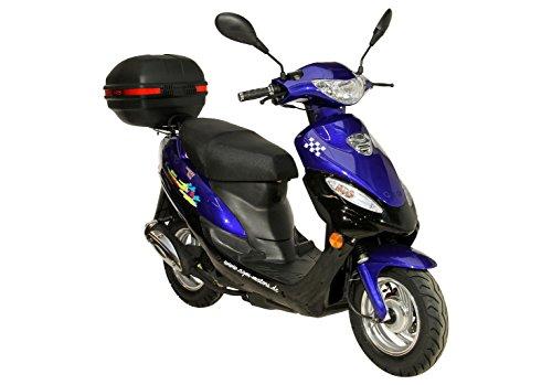 ROLLER GMX 450 MOKICK 45 KMH BLAU TOPCASE 24 - Motorroller - Freitheit auf zwei Rädern