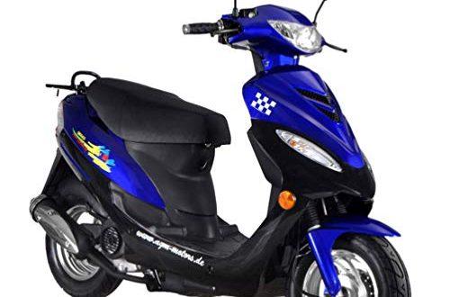 Roller GMX 450 SPORT Mokick 45 kmh blau 21 KW 500x330 - Roller GMX 450 SPORT Mokick 45 km/h blau 2,1 KW / 2,9 PS/Luftgekühlt/Alufelgen/Gepäckträger/Scheibenbremse/Teleskopgabel Hydraulisch/ab 16 Jahren