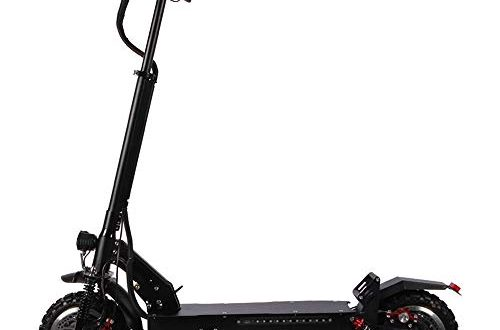 OUY Elektroroller 70 Kilometer weitraeumige Tragbarer Klapp Design Commuting Motorroller for 500x330 - OUY Elektroroller 70 Kilometer weiträumige Tragbarer Klapp-Design Commuting Motorroller for Frauen und Männer Erwachsener Elektroroller (Color : Black, Size : 60V/26A)