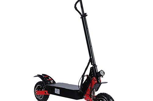 Roller 80 Kilometer weitraeumige bewegliches Klapp Design Commuting Motorroller for Frauen 500x330 - Roller 80 Kilometer weiträumige bewegliches Klapp-Design Commuting Motorroller for Frauen und Männer Kinder zu Erwachsenen (Color : Black, Size : 52V/35A)