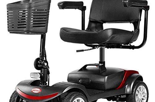 DLY Elektromobil fuer Aeltere Menschen mit Behinderung 4 Rad mit Sitz 500x330 - DLY Elektromobil für Ältere Menschen mit Behinderung 4-Rad mit Sitz Elektroroller Mobilitätsroller Mobiler Motorroller für Erwachsene bis 8 Km/H, Reichweite 35 Km
